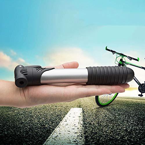 Mini Fietspomp, Portable Pocket Fietsband Pomp Road, Mountainbikes, Aluminium Barrel Voor Schrader Ventiel En Presta Valve