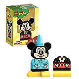 LEGO Duplo Il Mio Primo Topolino con Abiti Interscambiabili e Creare Tante Scene con il Personaggio Disney Preferito dei Bambini, Set di Costruzioni per Bambini +1 1/2, Idea Regalo, 10898