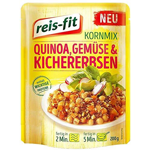 reis-fit Kornmix Quinoa, Gemüse & Kichererbsen 6x200g
