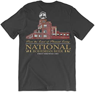 Route One Apparel | Officially Licensed National Bohemian Beer Brewer's Hill Shirt