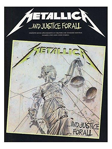Metallica: ...And Justice For All Guitar Tab Edition. For Tablatura di Chitarra(con il cifrato degli accordi