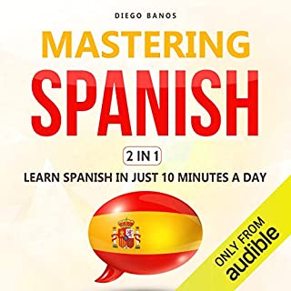 Mastering Spanish 2 in 1 cover art