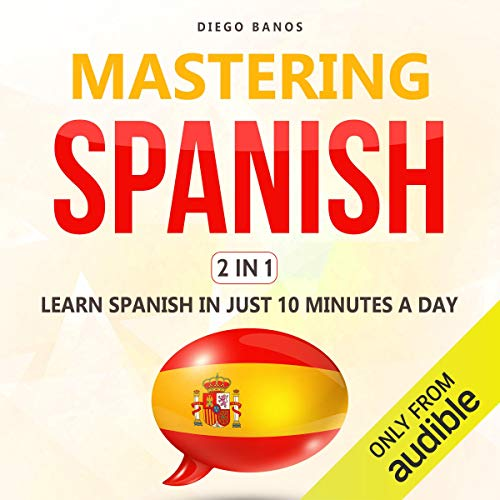 Page de couverture de Mastering Spanish 2 in 1