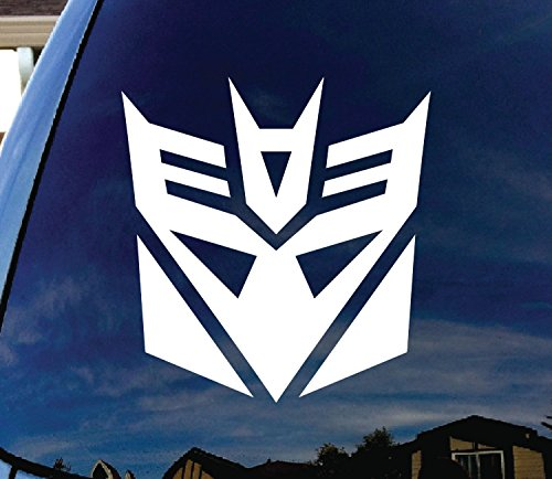 CMI349 Decepticon Transformer Car Window Vinyl Decal Sticker 5' Wide