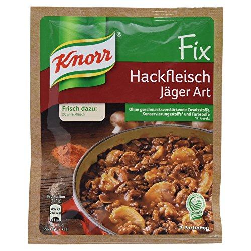 Knorr Fix für Hackfleisch Jäger Art, 20er Pack (20 x 36 g Beutel)