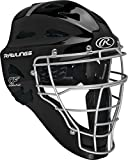 Rawlings Renegade Coolflo - Casco de hockey para adulto, 7 1/8 - 7 3/4, color negro y plateado