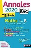 Annales ABC du BAC 2020 Maths Term S - corrigé