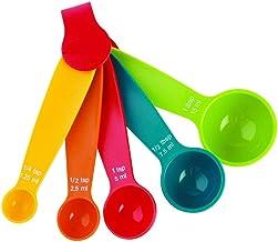 Garden Of Arts Mini Measuring Spoon(Multicolour) - Set of 5
