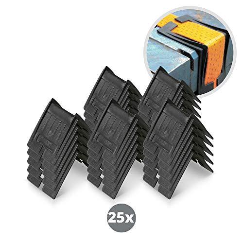 25 x Kantenschutz für Spanngurte - 110 x 110 x 82 mm