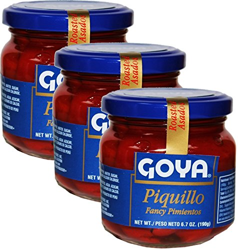 Piquillo Peppers 6 .7 oz each Pack of 3 jars