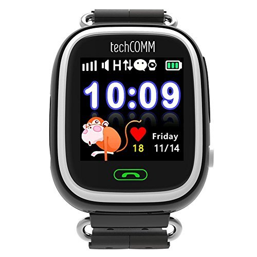 TechComm Q90 Kids GPS Smart Watch with Fitness Tracker for T-Mobile ONLY
