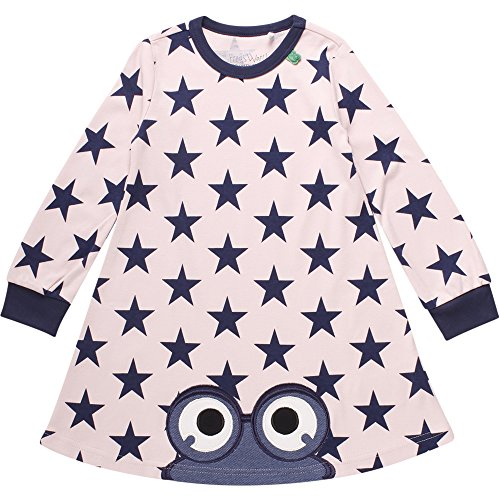 Fred'S World By Green Cotton Star Peep Dress Robe, (Rose 014130901), 3 Ans Bébé Fille