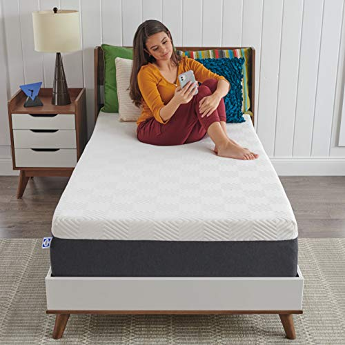 sealy most comfortable mattresses Sealy - Memory Foam Bed in a Box – 12 Inch, Medium Feel, Twin XL Size, CopperChill Technology, CertiPur-US Certified