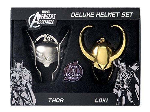 Marvel Limited Edition Loki and Thor Helmet Key Ring Set (2-Piece)