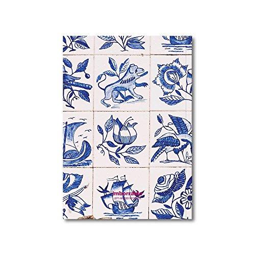 Imborrable Ovar - Cuaderno para zurdos, 144 páginas, A5, 14.8 x 21 cm