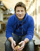 LIMITED EDITION JAMIE OLIVER SIGNED PHOTOGRAPH CERT PRINTED AUTOGRAPH