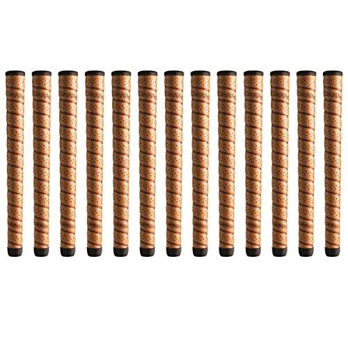 Winn DriTac Wrap Oversize +1/8' Copper Golf Grip Bundle (13 Piece)
