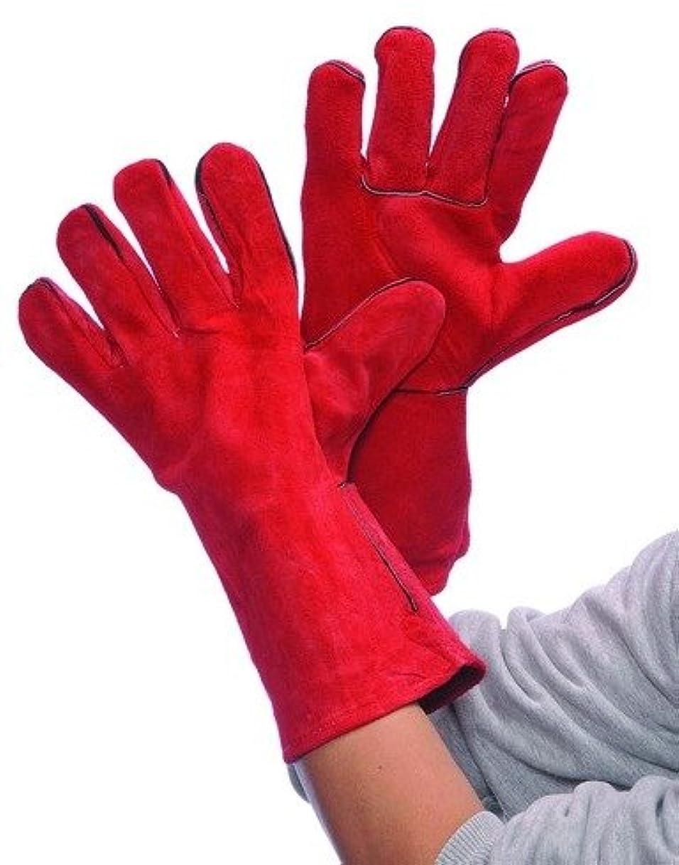 子羊判定記述するレッドレザー溶接手袋ケースパック36、自動車、ツール& Industrial、オフィスメンテナンス、用務& Lunchroom、手袋、ファブリック
