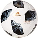 adidas World Cup Comp Balón, Hombre, Blanco/Negro/Plamet, 4