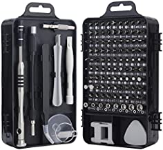 Screwdriver Set, Trekoo 110 in 1 Precision Screwdriver Repair Tool Kit Magnetic Driver Kit Professional Repair Tool Kit for iPhone X, 8, 7 / Cellphone/Computer/Tablet/PC/electronic etc (Black)