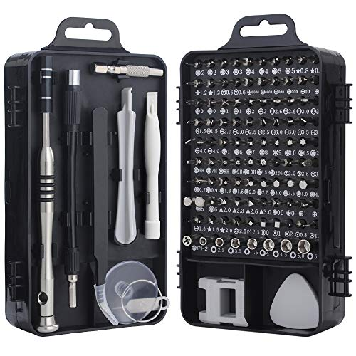 Set di cacciaviti, kit di strumenti di riparazione del cacciavite di precisione 110 in 1 Kit di driver magnetico Kit di strumenti di riparazione professionale per iPhone X, 8, 7 / Computer