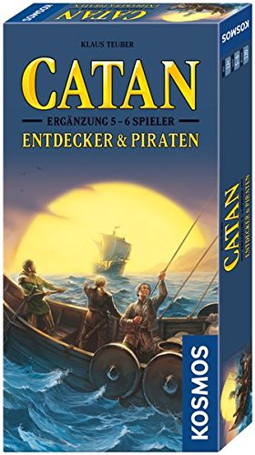 Catan - Entdecker & Piraten - Ergänzung: für 5 - 6 Spieler