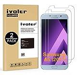 ivoler [Pack de 2] Verre Trempé Compatible avec Samsung Galaxy A5 2017 [Garantie à Vie], Film Protection en Verre trempé écran Protecteur vitre (0,3mm HD Ultra Transparent)
