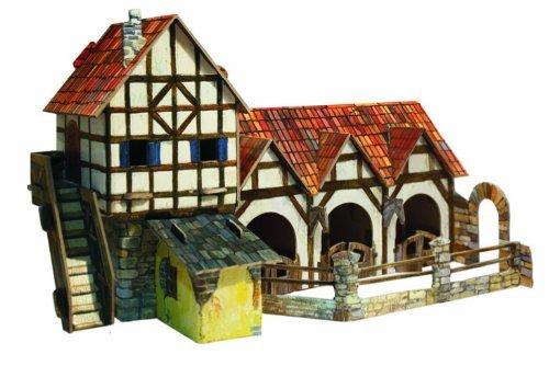 CLEVER PAPER- Puzzles 3D Establo (14264)