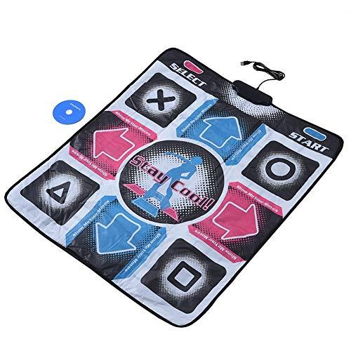 Tanzmatte - Griffige haltbare haltbare Tanzschritt-Tanz-Matten-Auflage Tänzer Decke t mit USB for PC