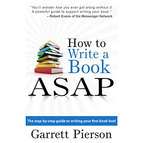 How to Write a Book ASAP audiobook cover art