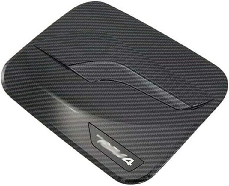 Fuel Atlanta Mall Tank Cap Cover Trim MoreChioce Car Fiber Max 44% OFF Styling Carbon ABS
