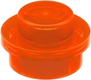 Lego 20 x Platte 1x1 rund flach 4073 orange