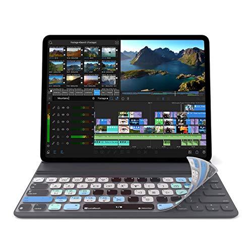 LumaFusion - Funda para teclado inteligente iPad Pro de 12 pulgadas, versión USA | No compatible con teclado Magic Keyboard