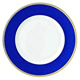 Wedgwood Hibiscus Dinner Plate, 10.75', White and Blue