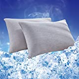 Best 2K Cooling Pillows - HOMBYS 2 Packs Cooling Pillowcases Queen Size, Double Review