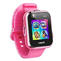 YOUR KID'S FIRST SMART WATCH: This new generation kids watch is a great introduction for your little one to tech world. Its smooth design and great variety of educational features are going to help baby act like Mum and Dad A STYLISH KIDS SMART WATCH...