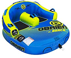 cheap O'Brien Barca 2-person inflatable boat, yellow