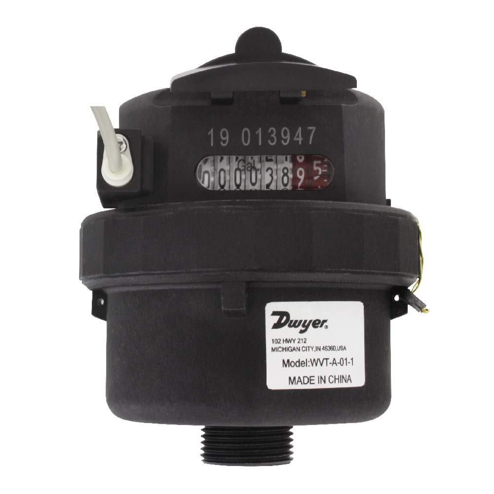 Dwyer WVT-A-02-1 Vertical-Mounting Water Hori or OFFicial New Orleans Mall Vertical Meter.