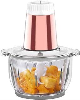 CJTMY Électrique hachoir à viande-cuisine Mini Hachoir - Robot culinaire électrique, fruits légumes Cutter oignon Slicer D...