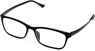 Cyxus Computer Glasses Blue Light Blocking (Ultem Lightweight flexible) Reduce Eyestrain Headache Sleepbetter (Blue)