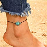 Women Anklet for Turtle-Shaped Single Layer, Fashion Animal Single Layer Rope Anklet, Halloween and Personalized Gifts for Womens Jewelry (C)