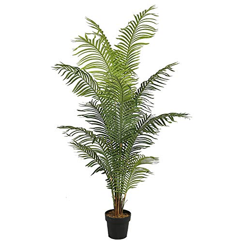 Arnusa Große künstliche Palme 180 cm KP102 künstliche Pflanze Kunstpflanze Zimmerpflanze