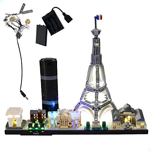 GEAMENT LED Light for (Architecture Paris with Eiffel Tower)...