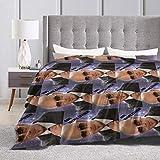 Tnigke Lesmus Mr.Worldwide Pitbull Soft All Season Lightweight Thermal Fleece Throw Blanket 50'' X40