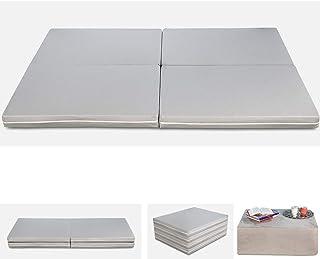 comprar comparacion Evergreenweb–Futón Space Multifunción 3en 1- Puf colchón individual y m...