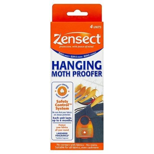 (1, Original Packaging) - 1 x Zensect Moth Hanging Proofer, 4 Units