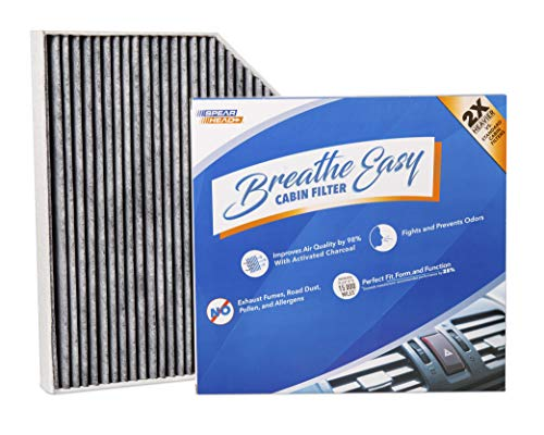 Spearhead Premium Breathe Easy Cabin Filter, Up to 25% Longer Life w/Activated Carbon (BE-179)