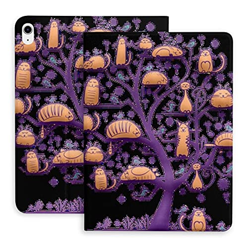 Cat Tree Of Life The protective case is suitable for iPad Air 4th generation. Stand case