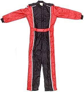 Impact Racing Black/Red Medium The Racer 1 Piece Driving Suit P/N 24215407