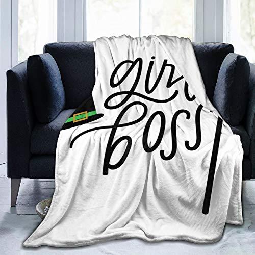 """tuyi Mädchen Boss, böse Hexe weiche Micro Fleece Decke Flanell Fleece weich und warm Plüsch Schlafsofa Couch Wohnzimmer 50\""""x 60\"""""""